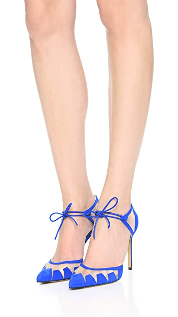 Bionda Castana Lana Suede Sandals