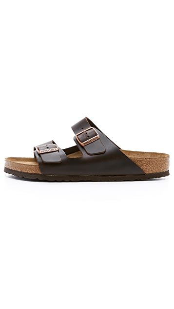 Birkenstock Soft Arizona Amalfi Leather Sandals
