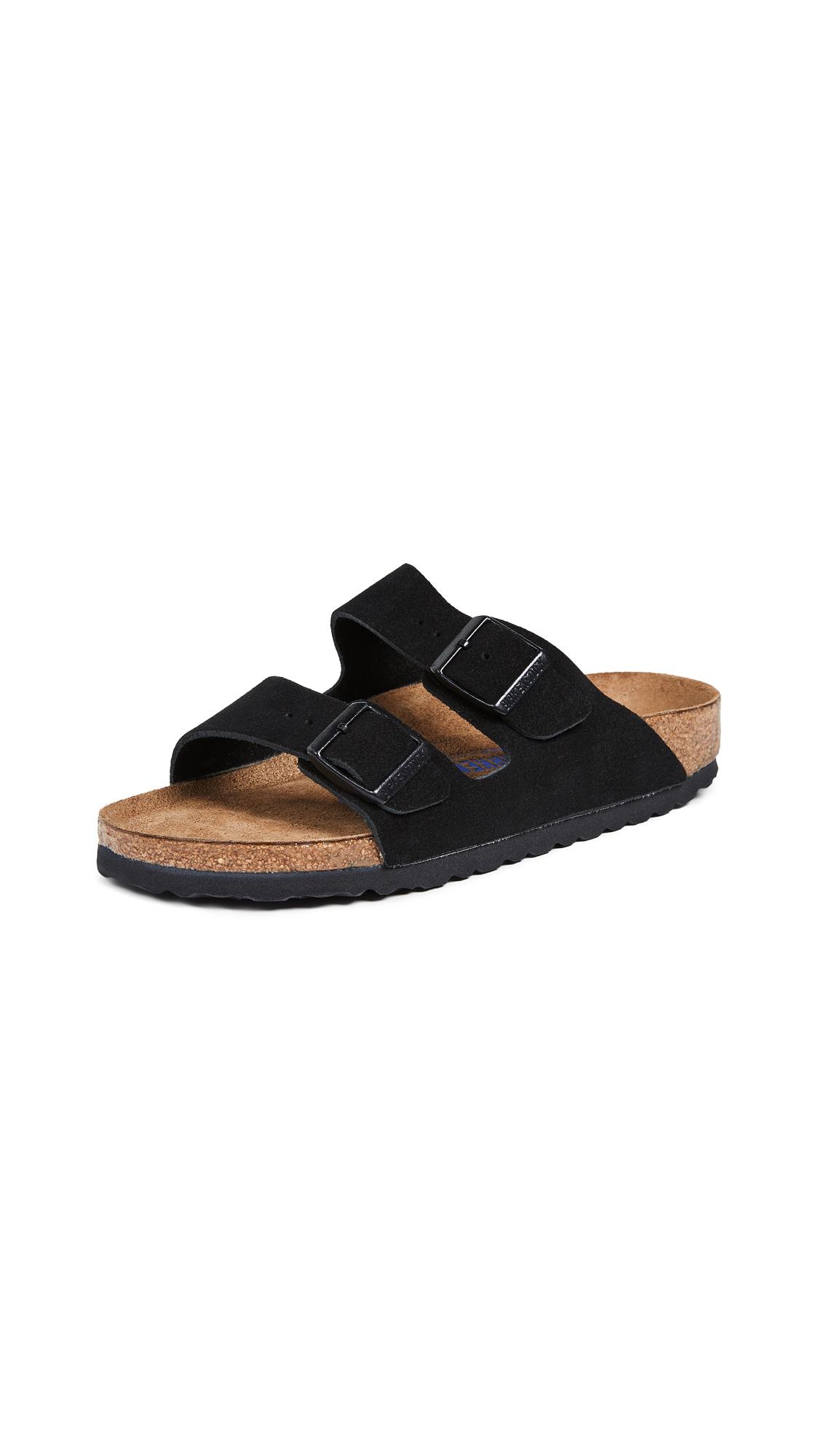 Birkenstock Arizona SFB Sandals - Black