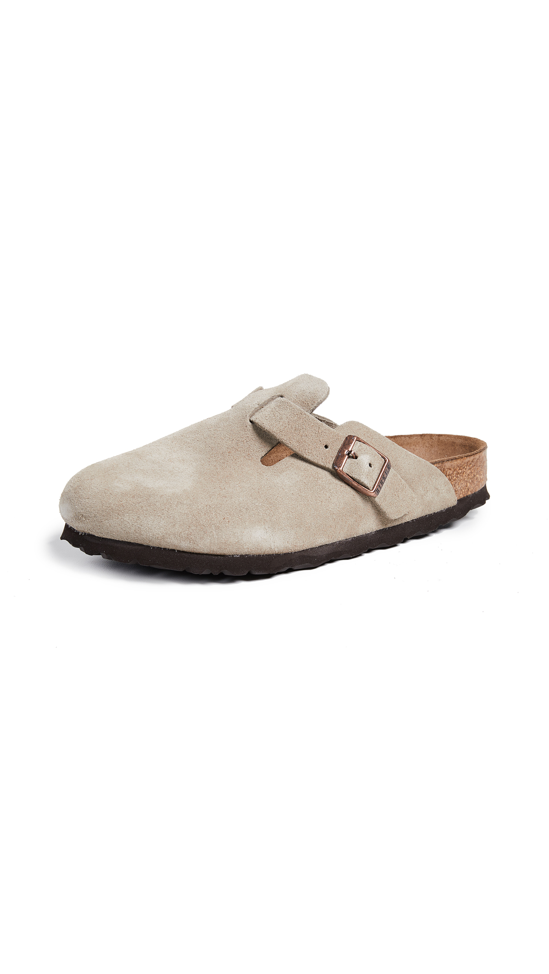 Birkenstock Boston SFB Clogs - Taupe