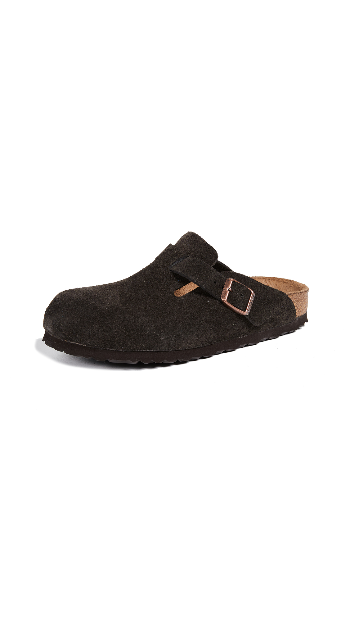 Birkenstock Boston SFB Clogs - Mocha
