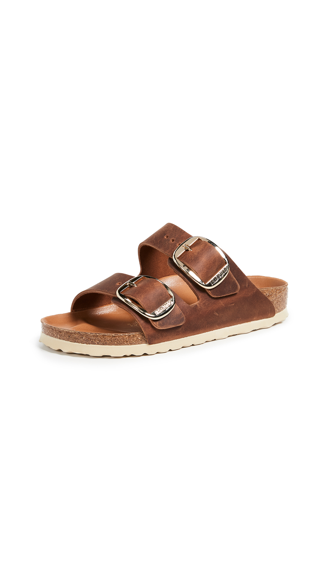 Birkenstock Arizona Big Buckle Sandals - Antique Cognac