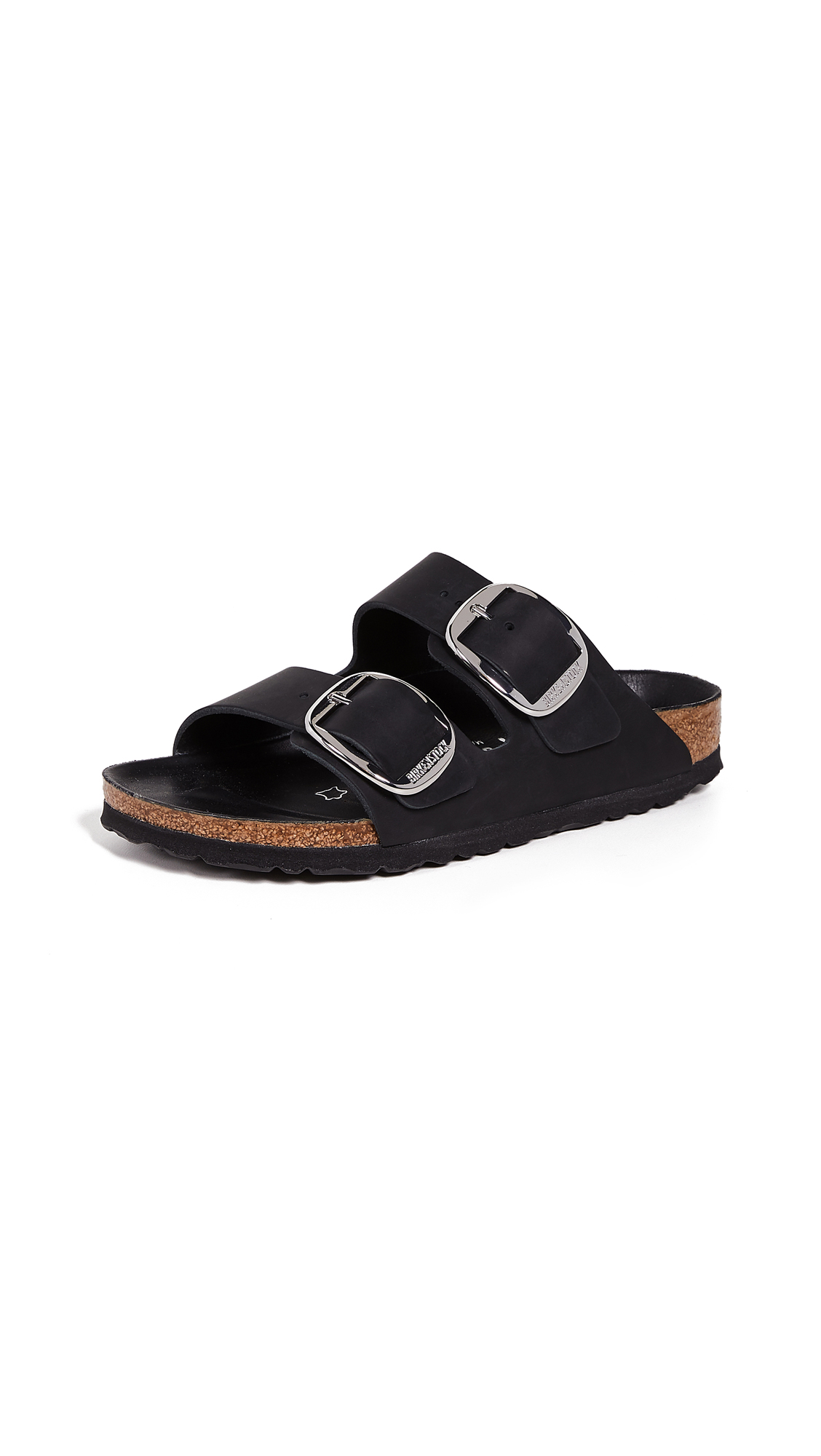 Birkenstock Arizona Big Buckle Sandals - Black