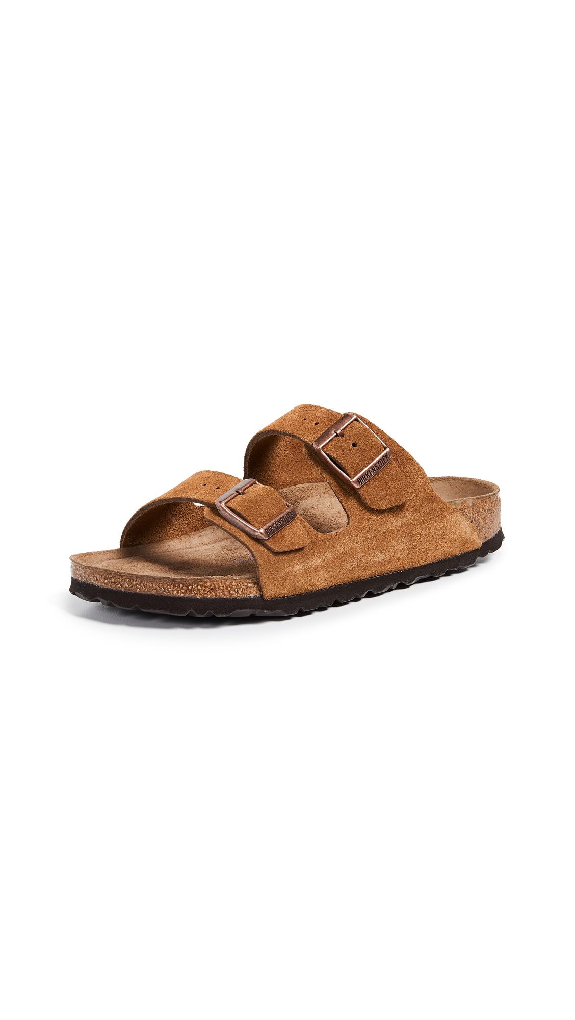 Birkenstock Arizona SFB Sandals - Mink