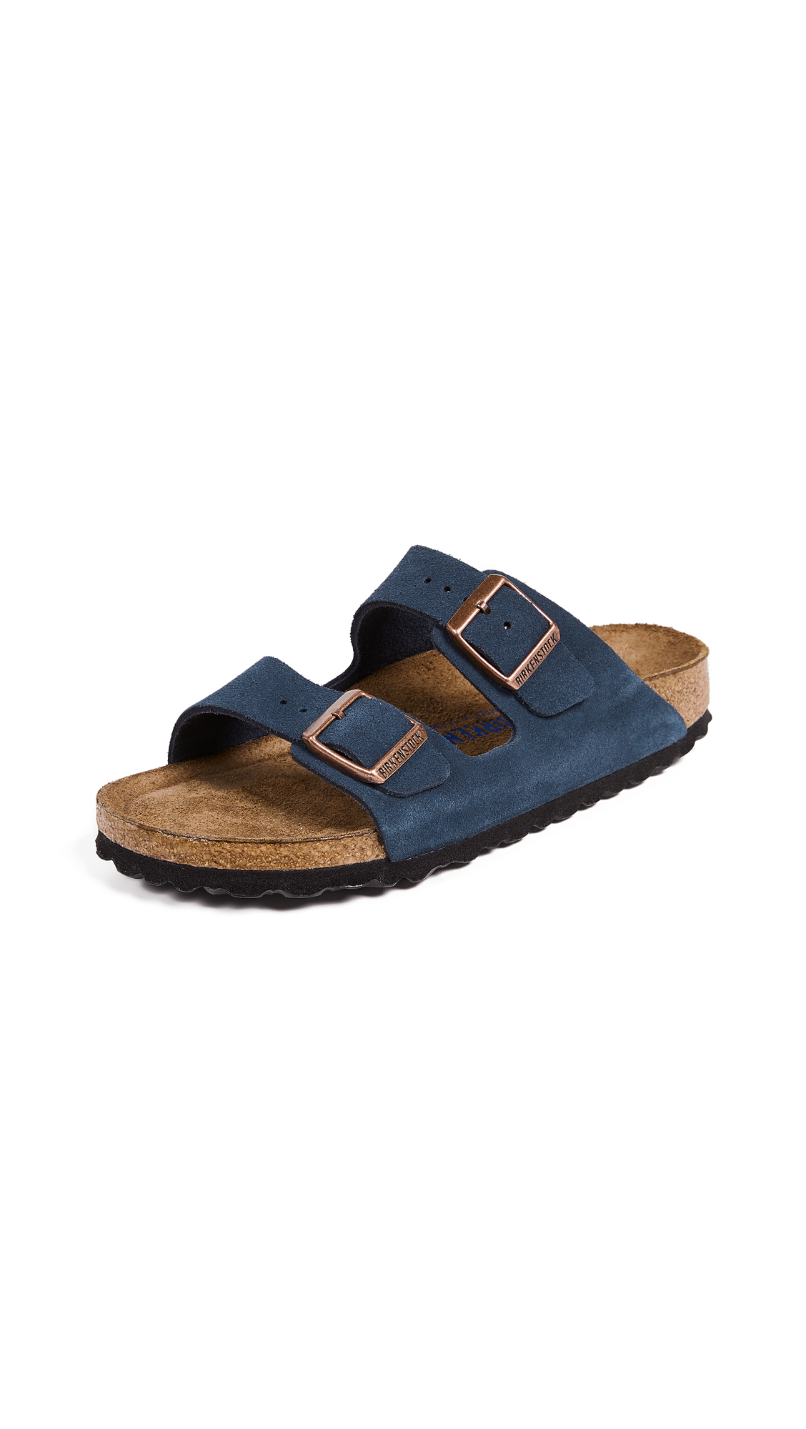 Birkenstock Arizona SFB Sandals - Navy