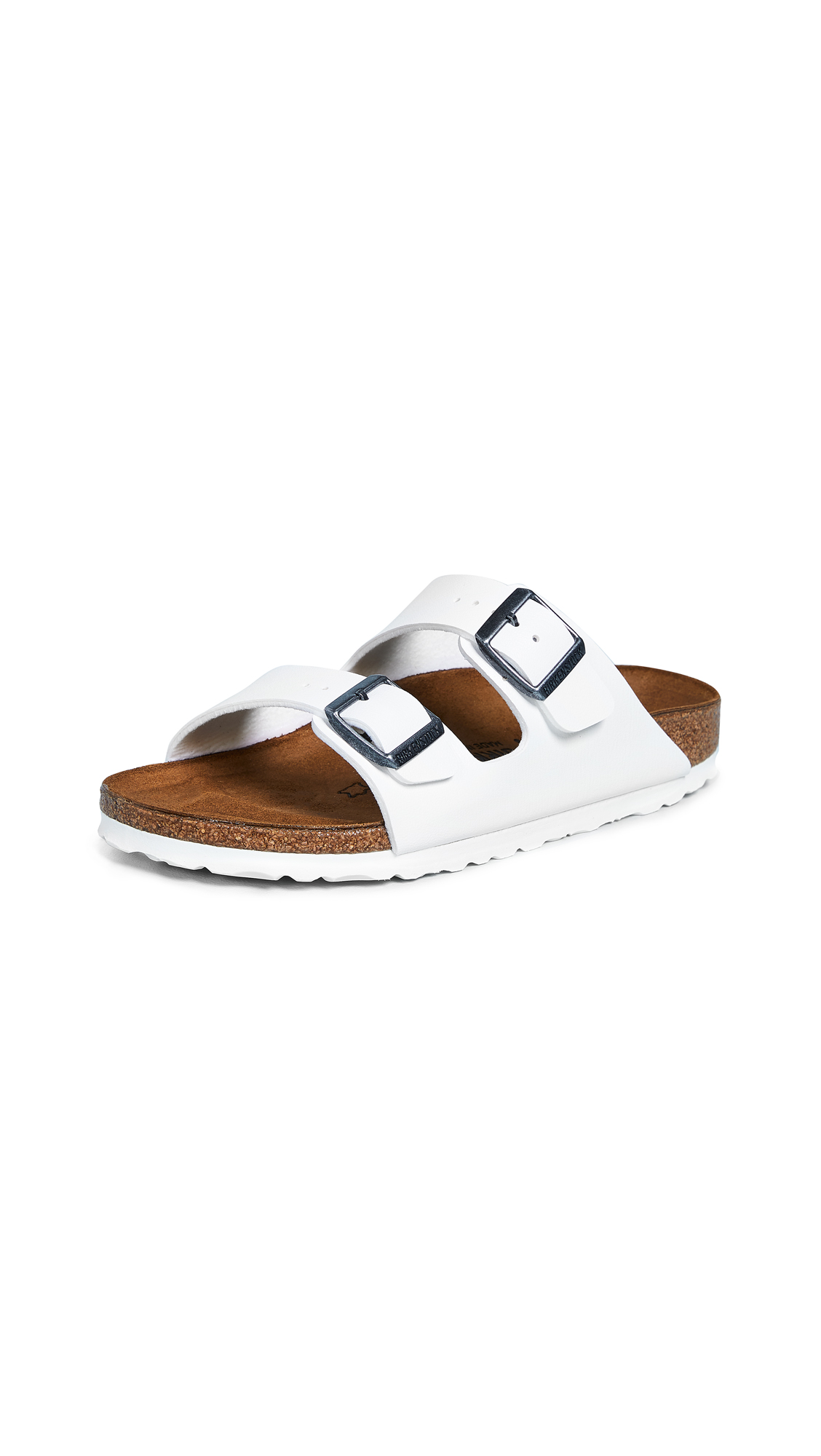 Birkenstock Arizona Sandals - White/White