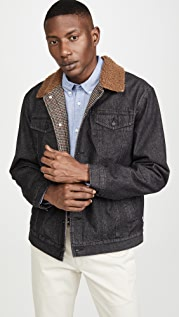 Banks Journal Orbit Sherpa Collar Trucker Jacket