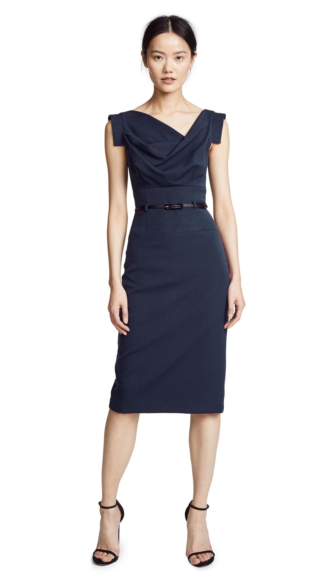 Buy Black Halo Jackie O Belted Dress online beautiful Black Halo Clothing, Dresses