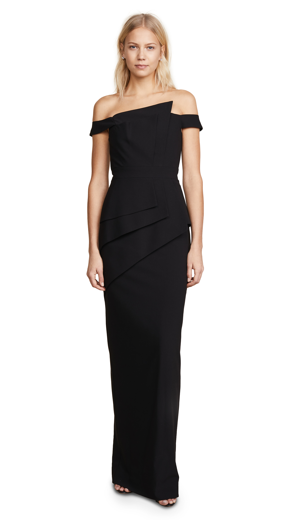 Buy Black Halo Eve La Reina Gown online beautiful Black Halo Dresses, Strapless