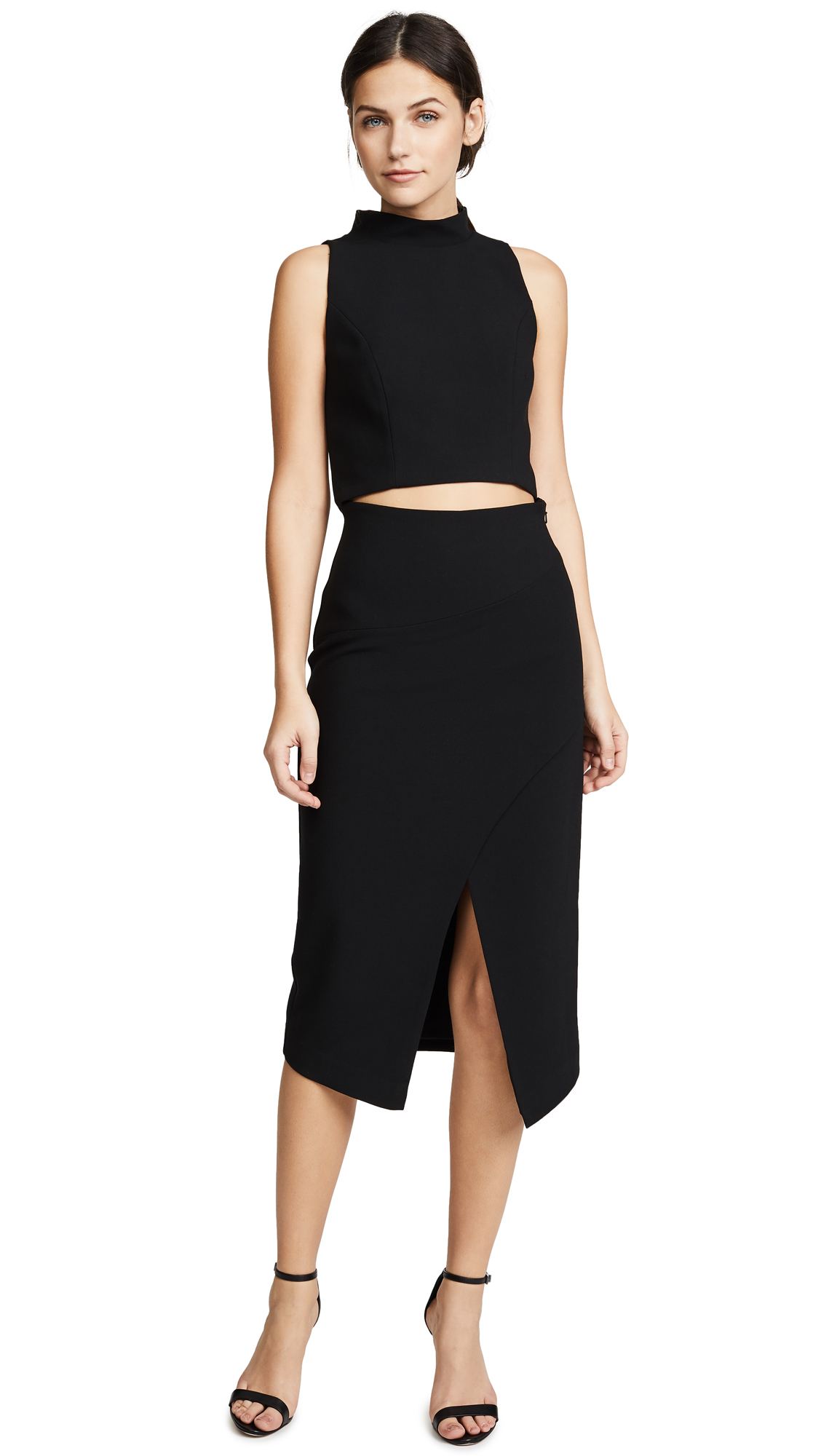 Black Halo Juma Two Piece Dress - Black