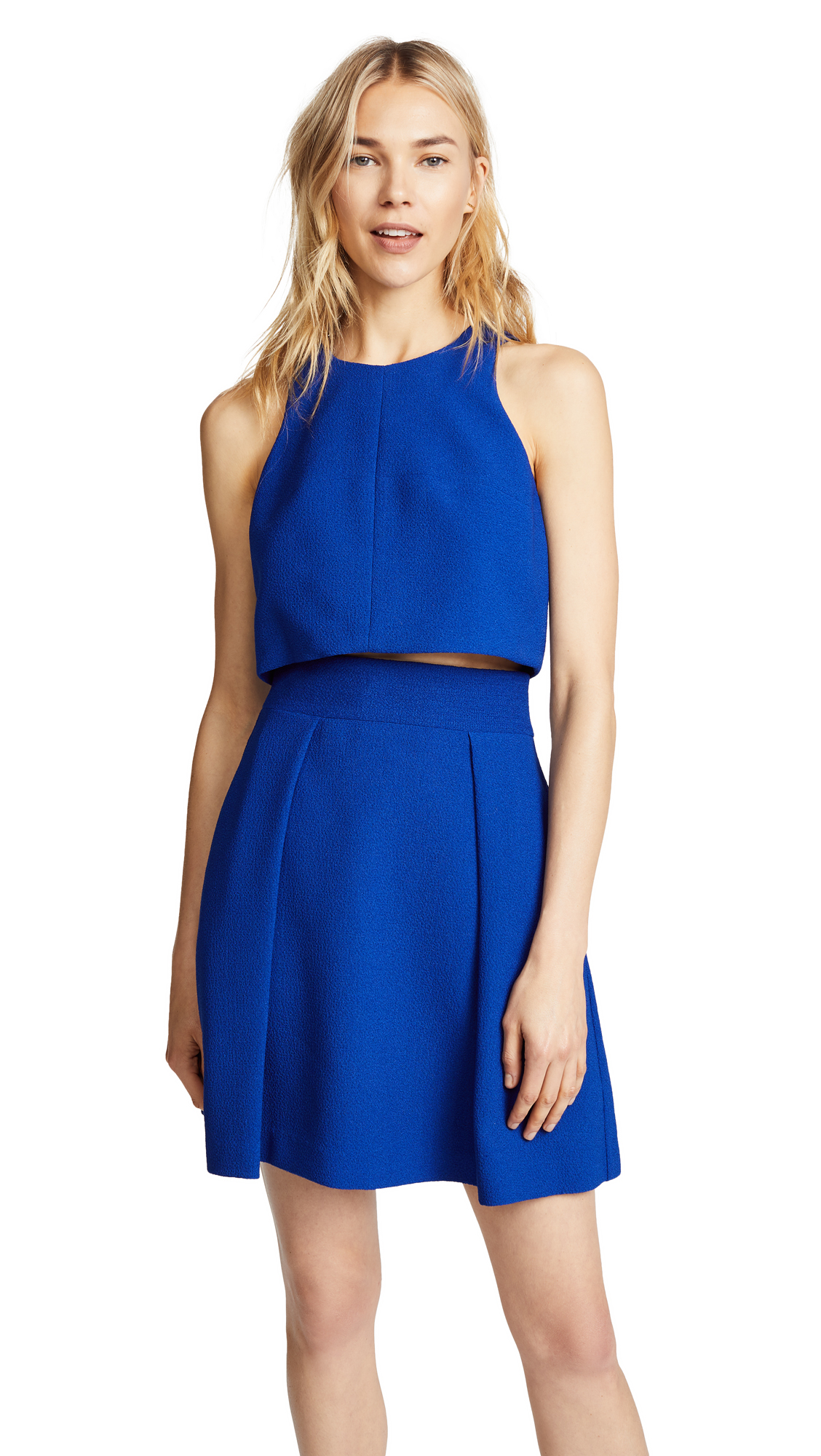 Black Halo Sanibel 2 Piece Mini Dress - Cobalt