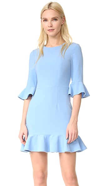 Black Halo Brooklyn Mini Dress - Twinkle Blue