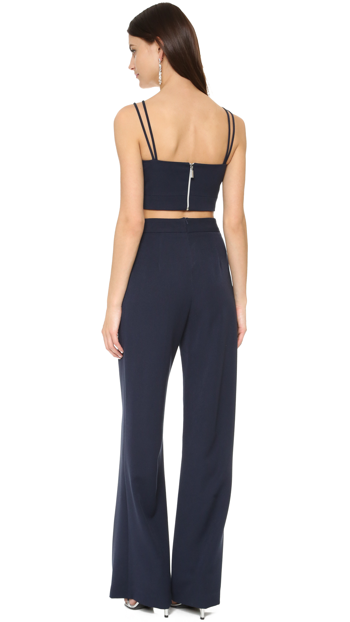 b5a2ec647c46 Black Halo Flynn Two Piece Jumpsuit