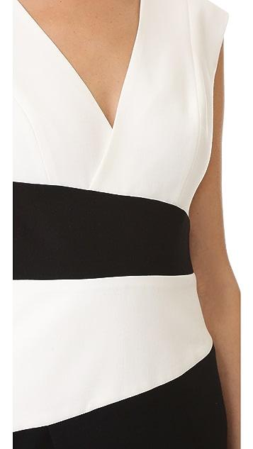 Black Halo Evia Sheath Dress