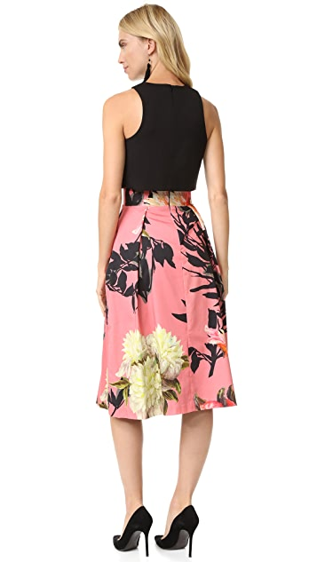 Black Halo Sanibel 2 Piece Dress