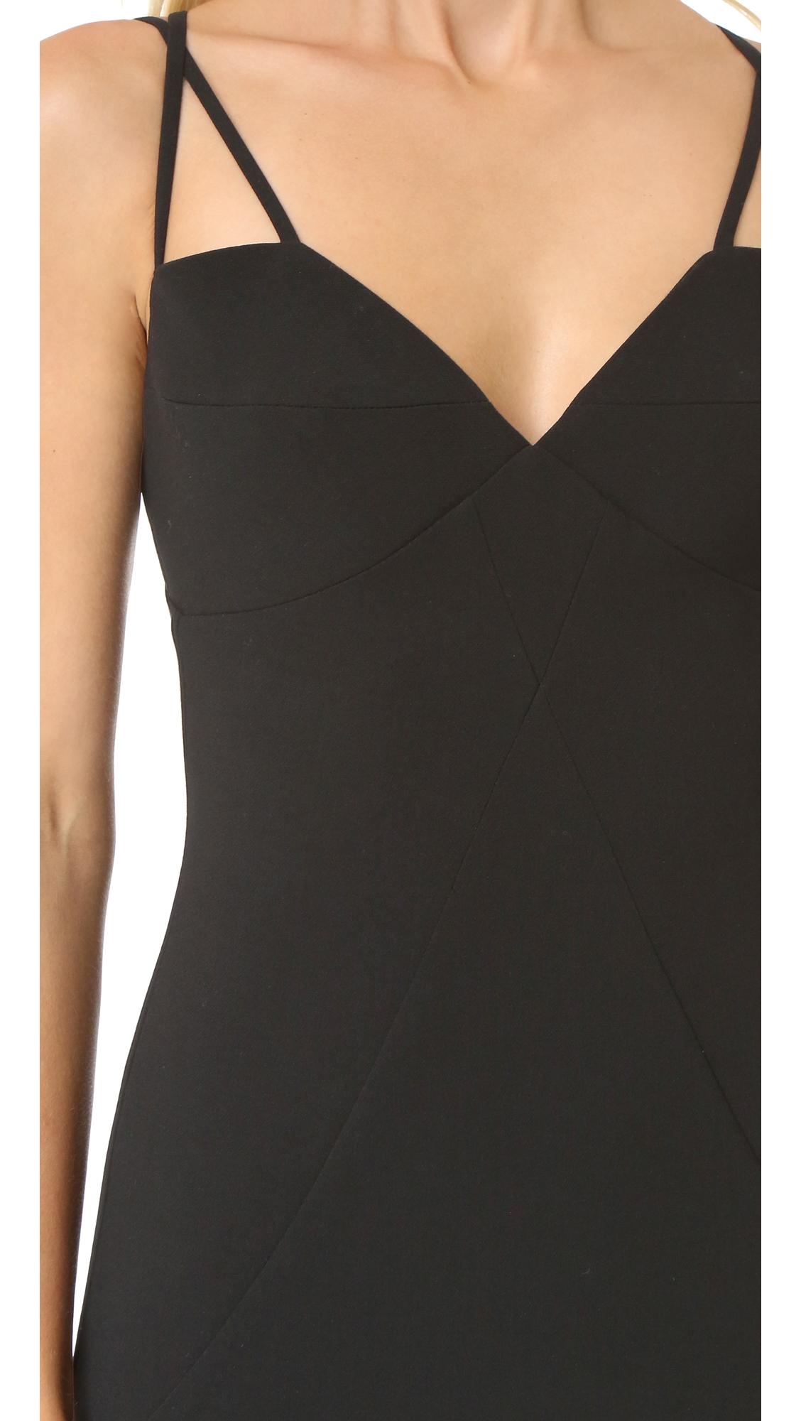 Мини-платье Behati Black Halo  (BLACK3035812867118)