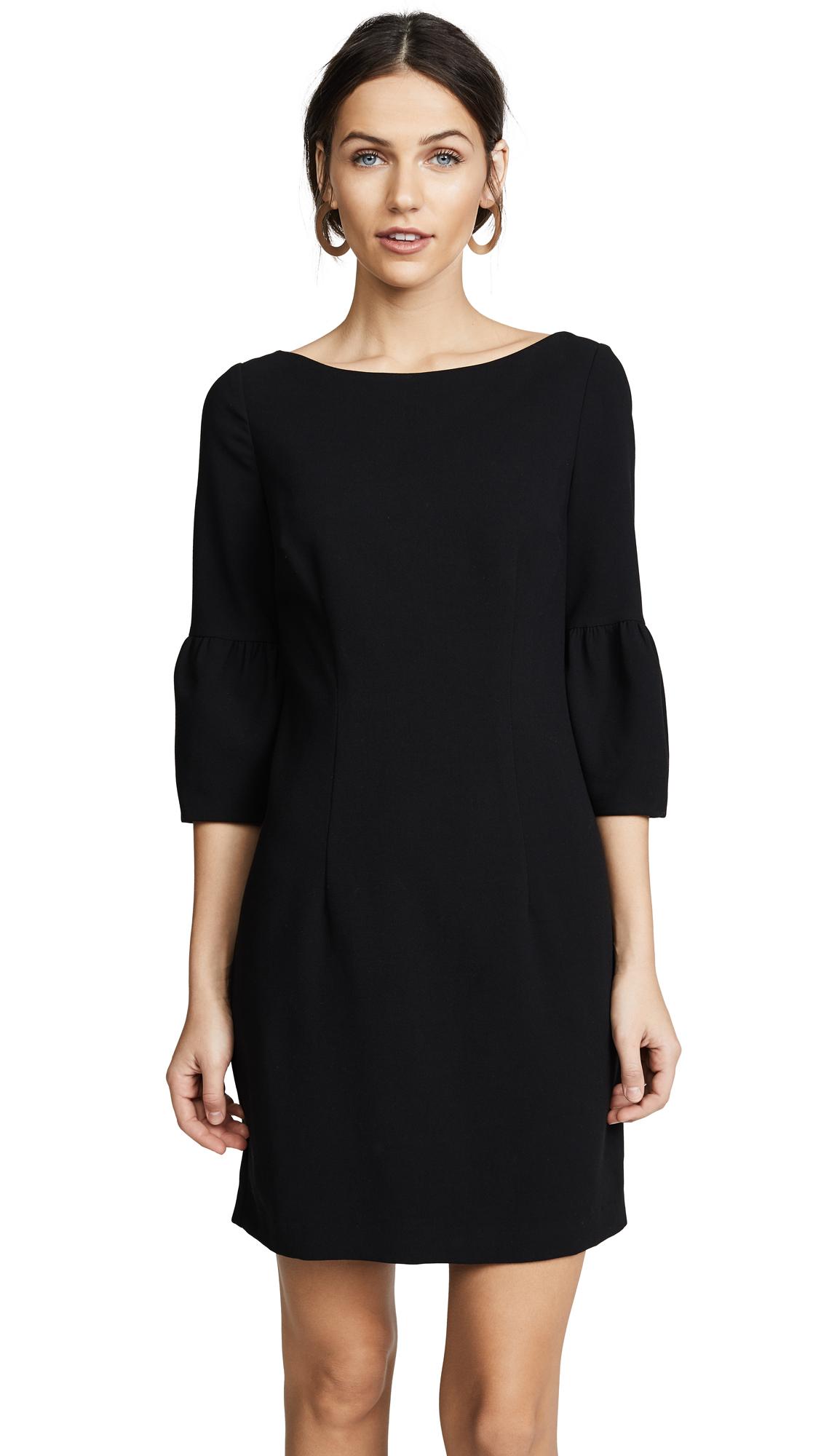 Black Halo Mooreland Mini Dress - Black