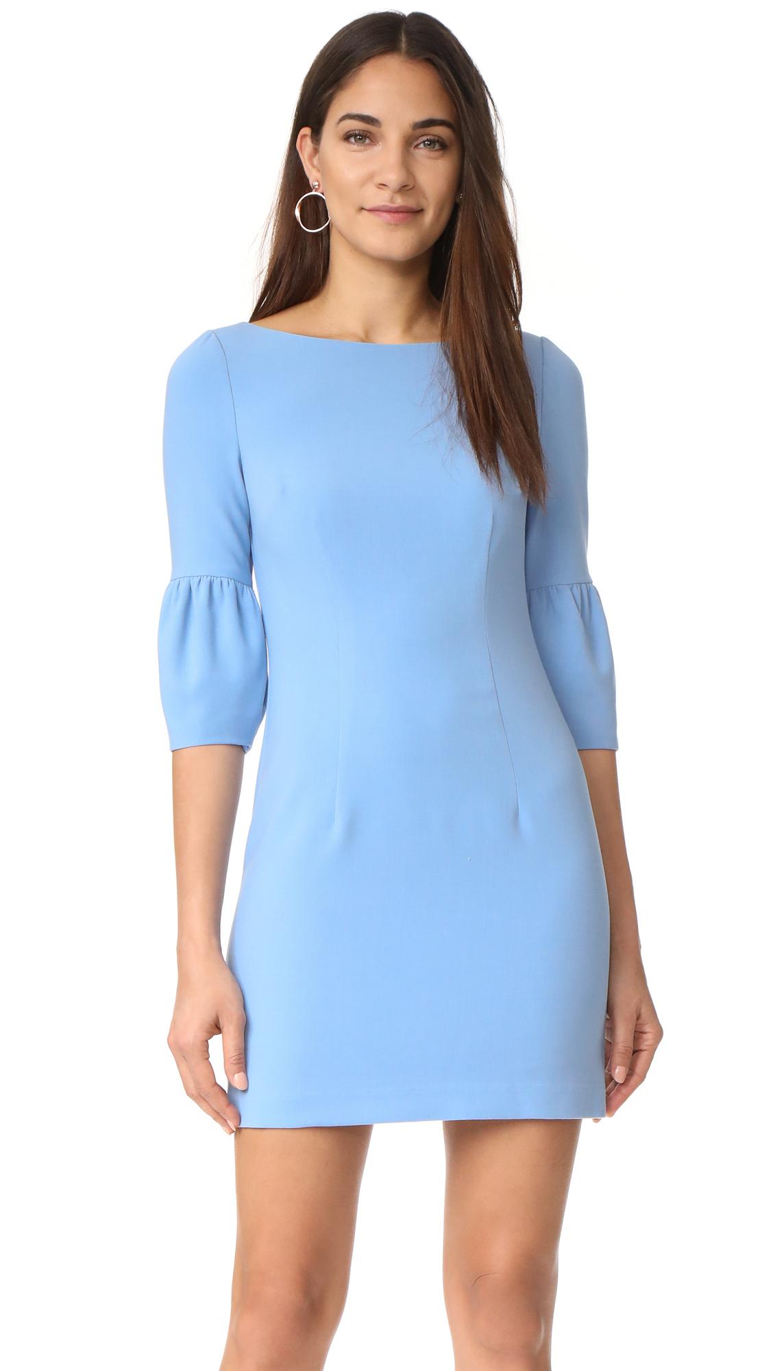 Black Halo Mooreland Mini Dress - Twinkle Blue