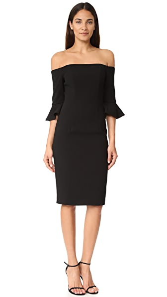 Black Halo Madigan Sheath Dress