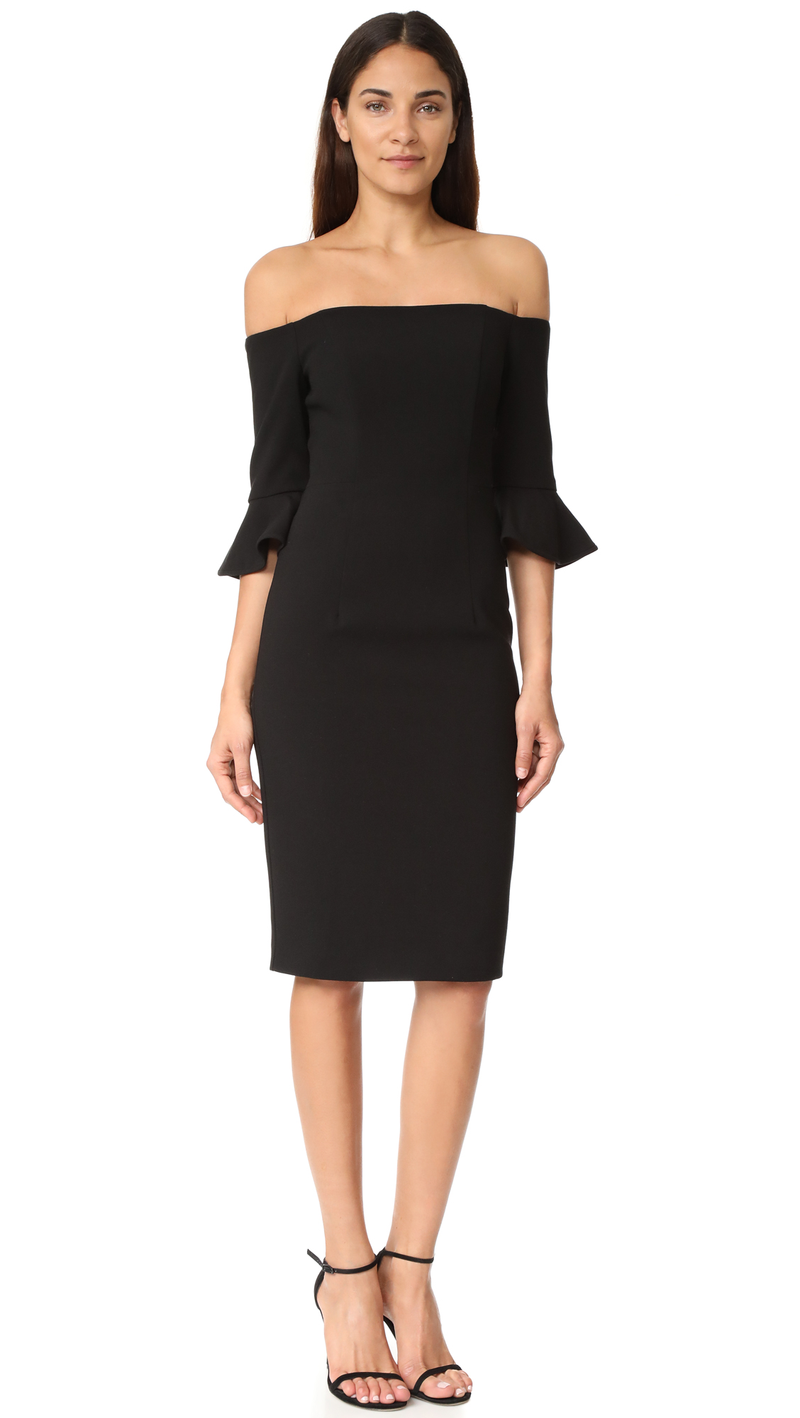 Black Halo Madigan Sheath Dress - Black