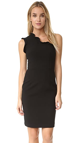 Black Halo Pravella Sheath Dress In Black