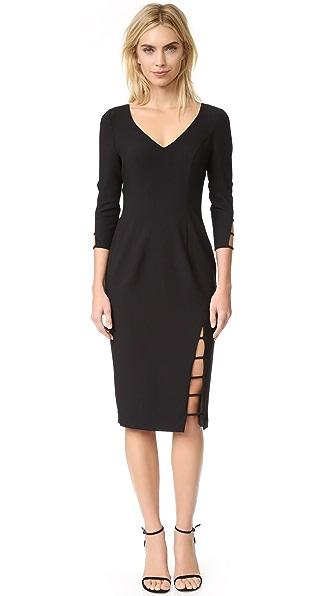 Black Halo Rizzo Sheath Dress