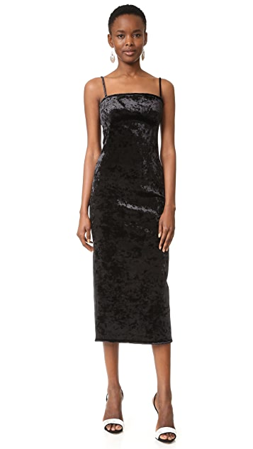Black Halo Constance Velvet Dress