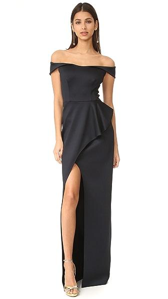 Black Halo Padma Dress In Black