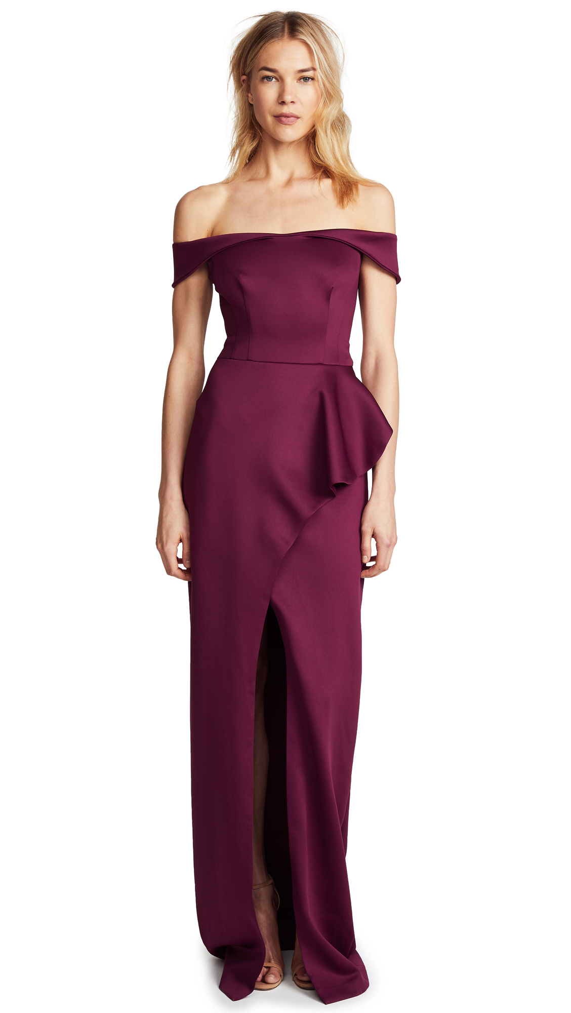 Black Halo Padma Dress - Syrah