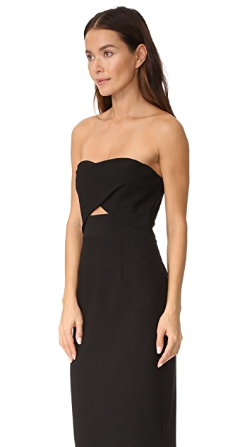 Black Halo Jada Cutout Dress
