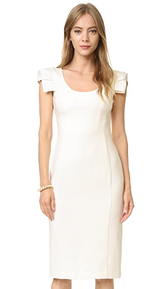 Black Halo Amelie Sheath Dress - Porcelain