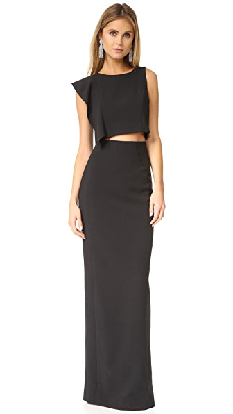 Black Halo Maple Two Piece Maxi Dress at Shopbop
