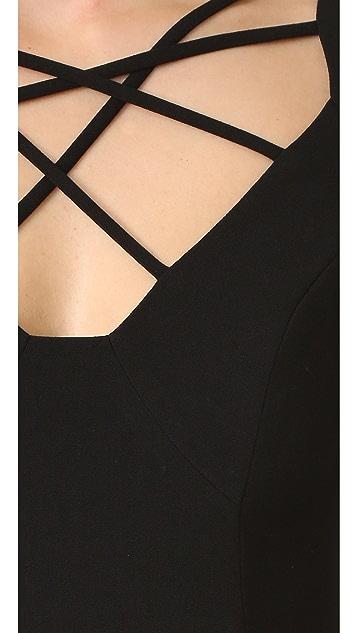 Black Halo Masca Sheath Dress