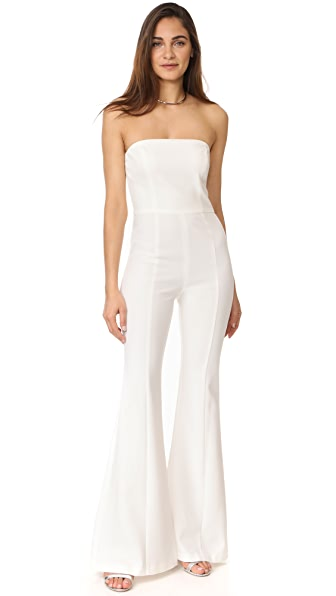 Black Halo Miller Strapless Jumpsuit at Shopbop