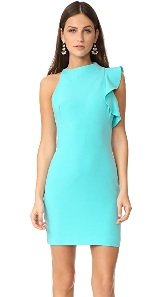 Black Halo Pabla Mini Dress - Atlantic Aqua