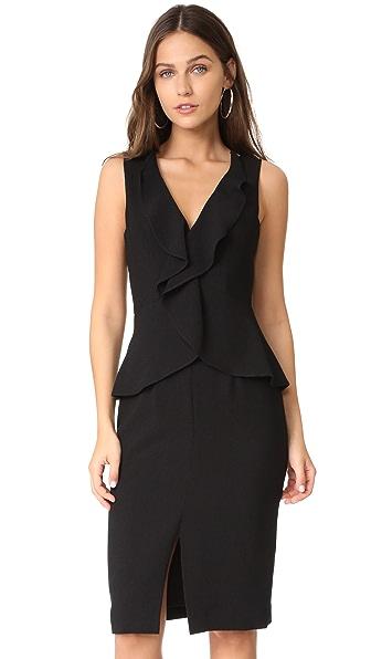 Black Halo Bishop Dress