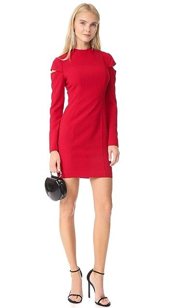 Black Halo Bonelli Mini Dress