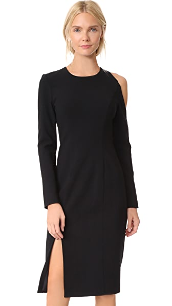 Black Halo Covina Sheath Dress In Black