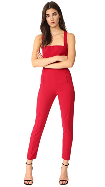 Black Halo Bene Jumpsuit - Bonfire