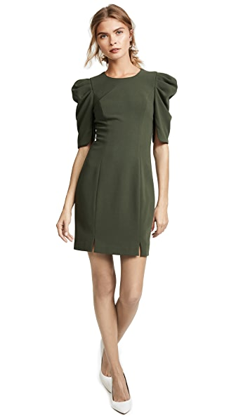 Black Halo Russo Mini Dress In Rainforest