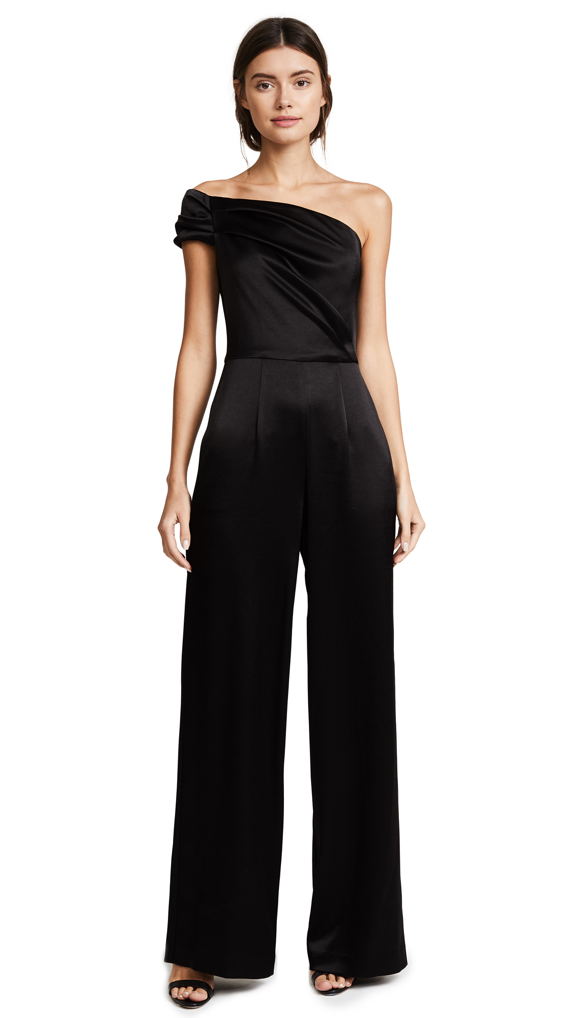 Black Halo Angelica Jumpsuit - Black