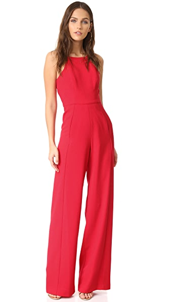 Black Halo Joaquin Jumpsuit - Wildfire