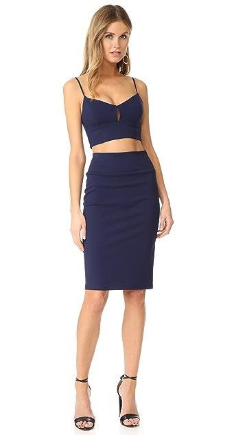 Black Halo Dahlia Dress