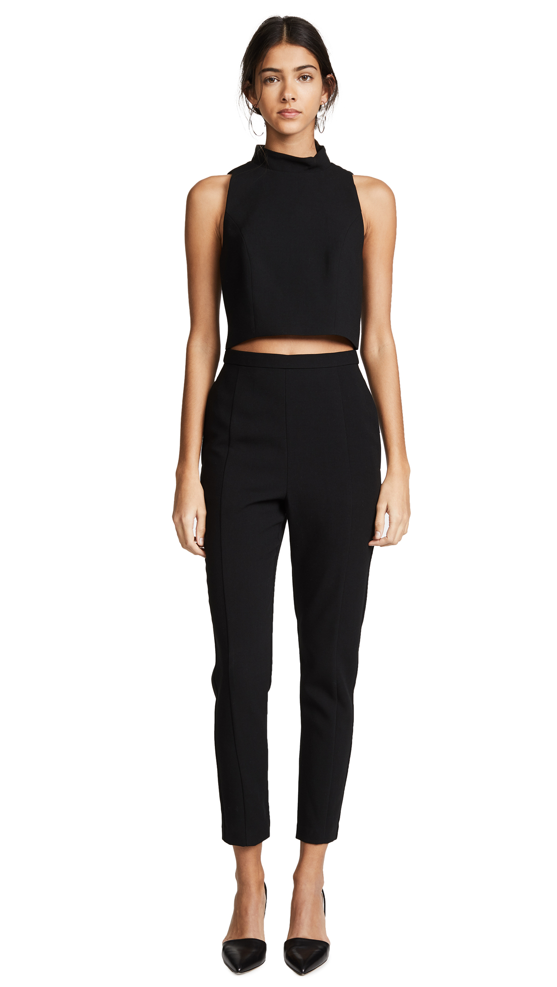 Black Halo Juma Jumpsuit In Black