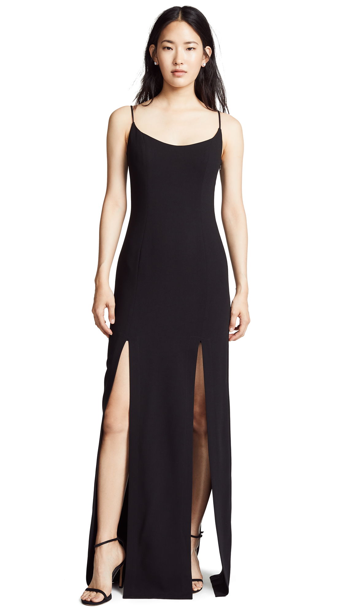 Black Halo Lyla Maxi Dress - Black