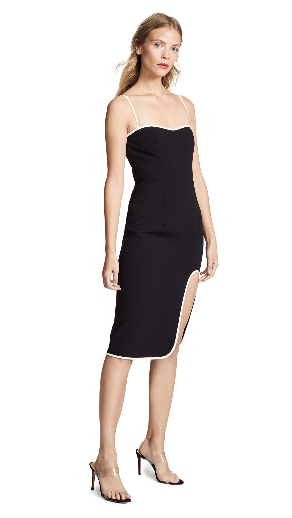 Black Halo Dalai Sheath Dress - Black/Porcelain