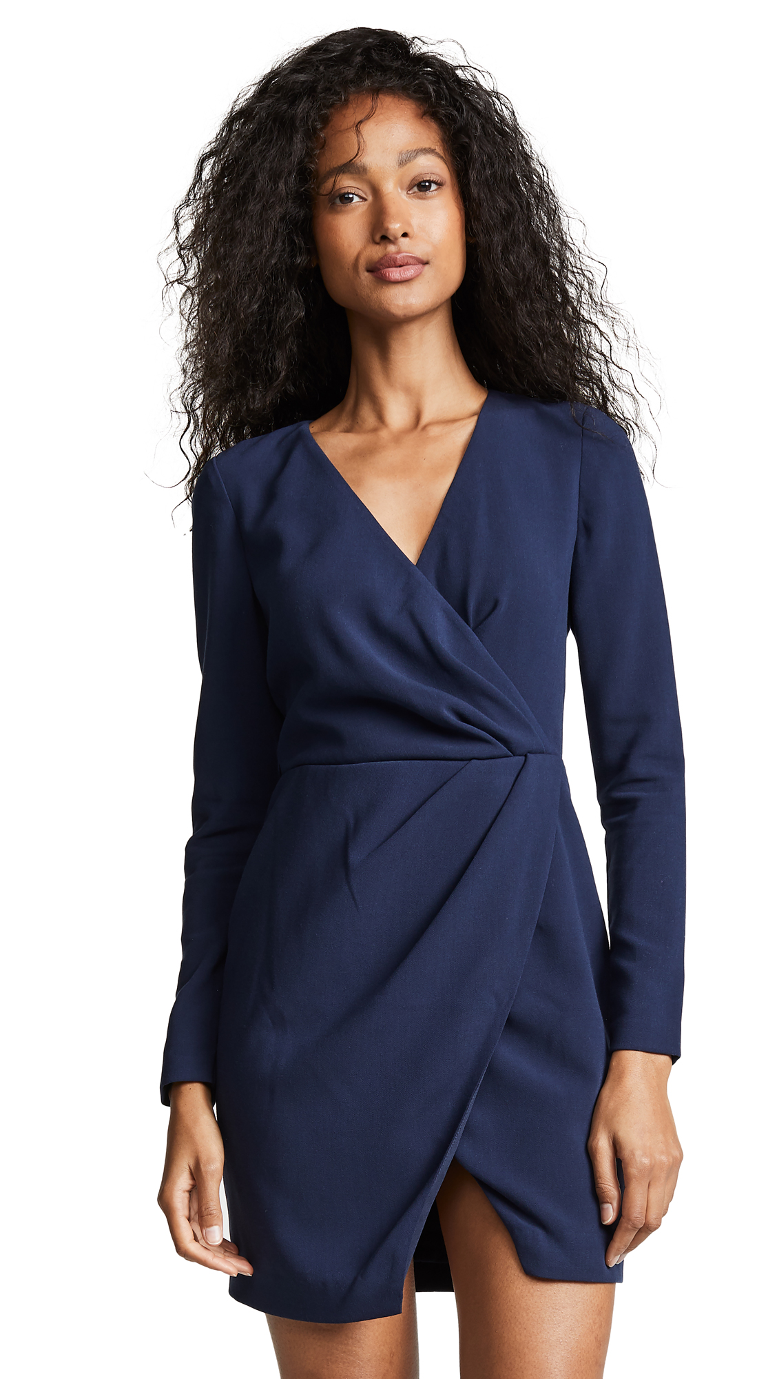 Black Halo Carie Mini Dress - Pacific Blue
