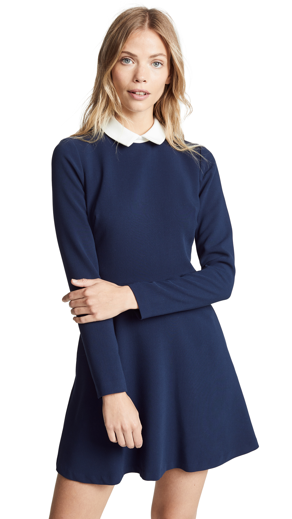 Black Halo Emmaline Mini Dress - Pacific Blue