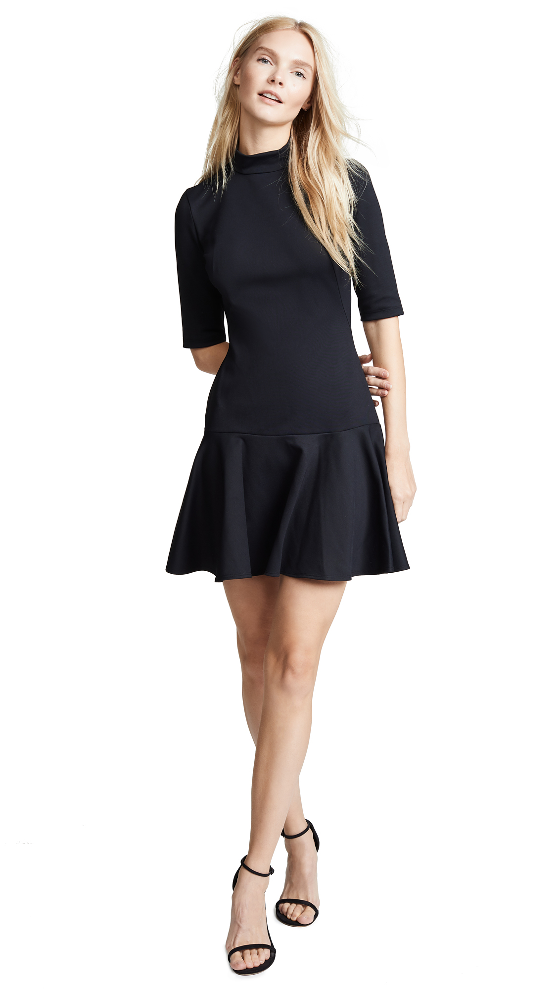 Black Halo Reeder Dress - Black