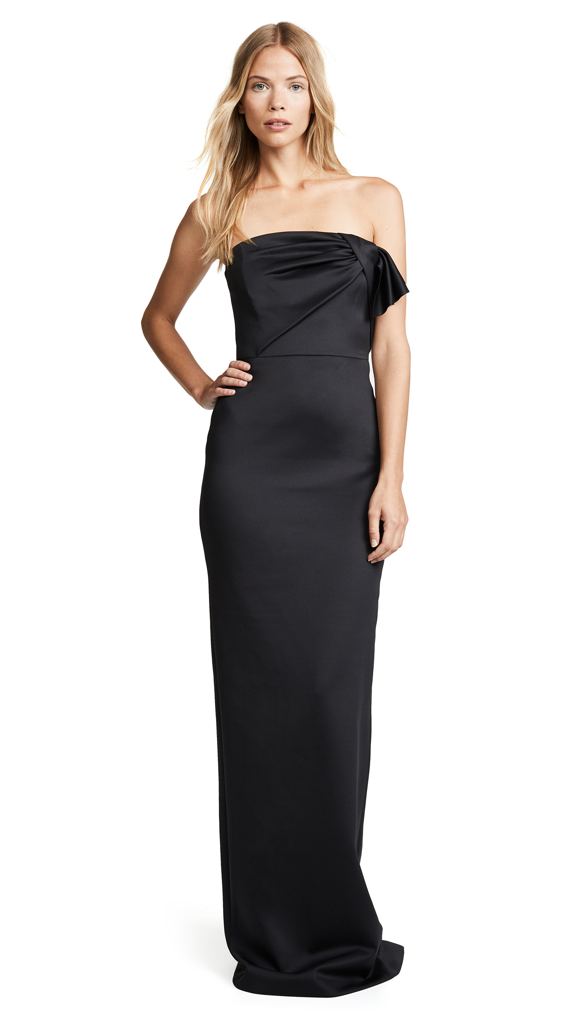 Black Halo Divina Gown - Black